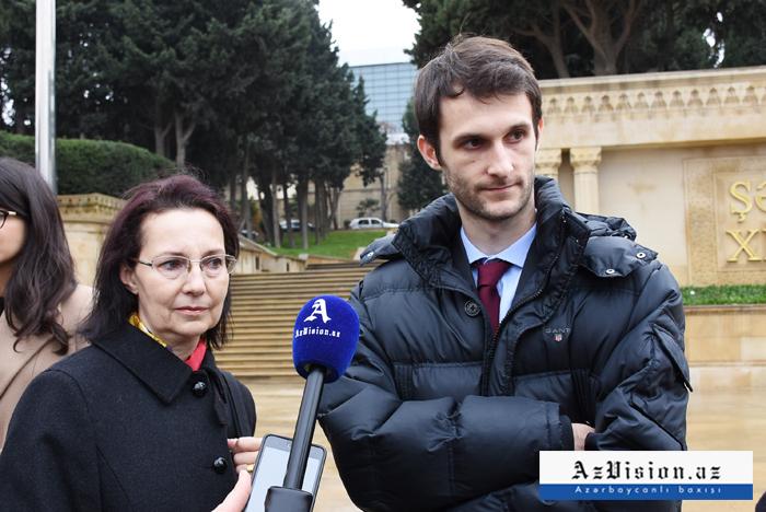 Les héritiers de Djeyhun Hadjibeyli sont en visiteà Bakou - ENTRETIEN