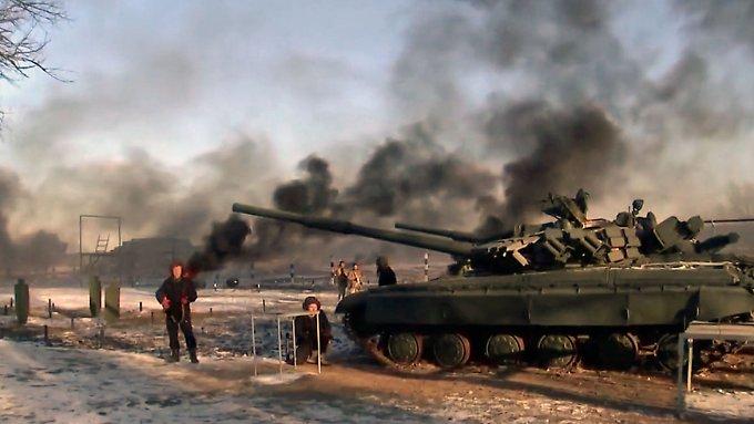 """Kiew spricht von """"Aggressor"""" Russland"""