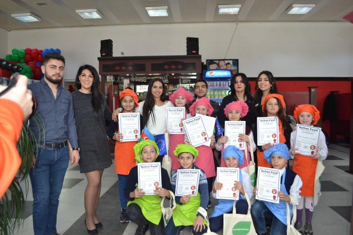 Azerbaijan Young European Ambassadors organized Young Master Chefs activity in Baku