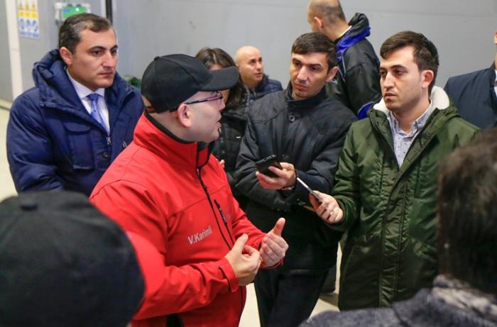 """BNA sədri: """"Belə qaraj dünyanın heç bir yerində yoxdur"""" - FOTOLAR"""