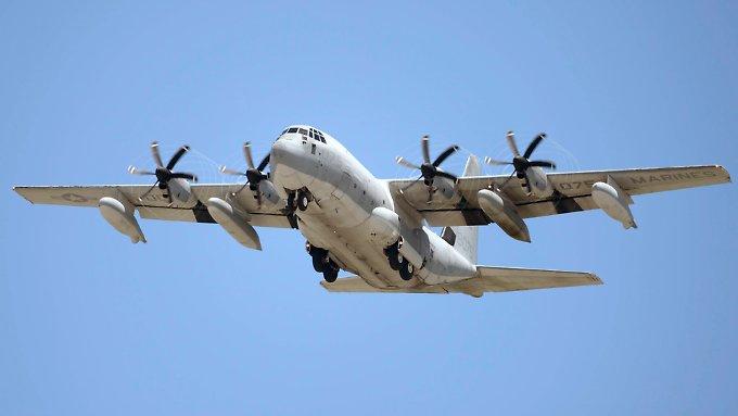 US-Kampfjet rammt Tankflugzeug