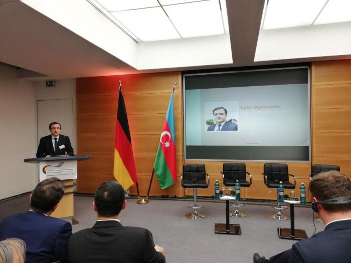 Almaniya-Azərbaycan Biznes Dialoqu keçirilib