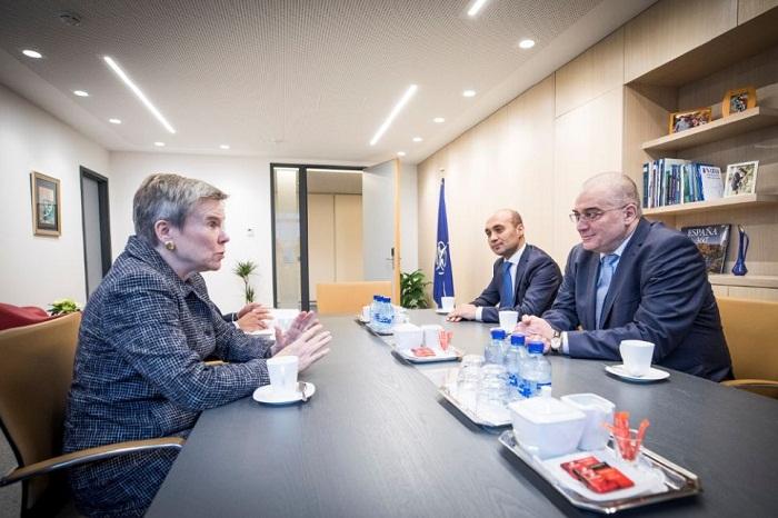 Abordada la colaboración entre Azerbaiyán y la OTAN