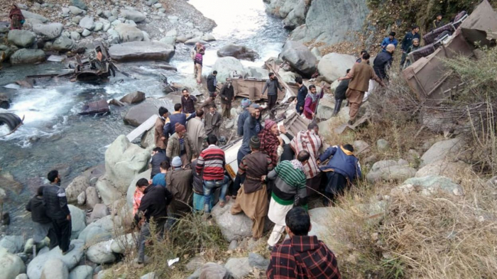 Inde : 13 morts dans un accident de bus au Kashmir
