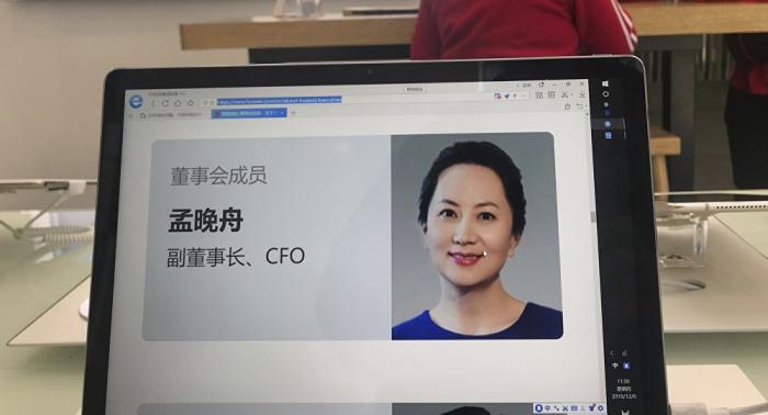 Embajada china condena detención de la directora financiera de Huawei en Canadá