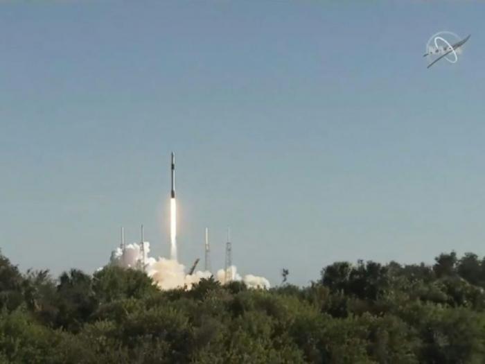 SpaceX expédie du ravitaillement vers la Station internationale