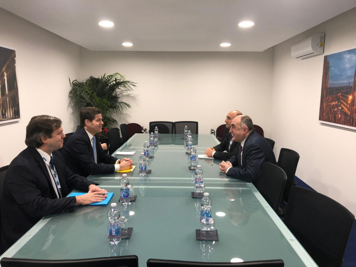 FM Mammadyarov meets with US Assistant Secretary of State for European and Eurasian Affairs in Milan