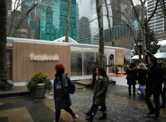 Pour redorer son image, Facebook ouvre une boutique éphémère à Manhattan