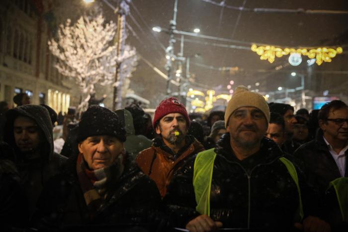 Serbie: manifestation contre le président Vucic