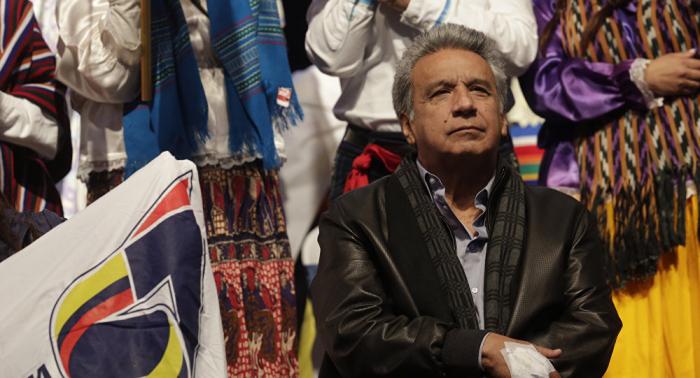 Lenín Moreno: Ecuador está buscando una solución que garantice la vida de Julian Assange