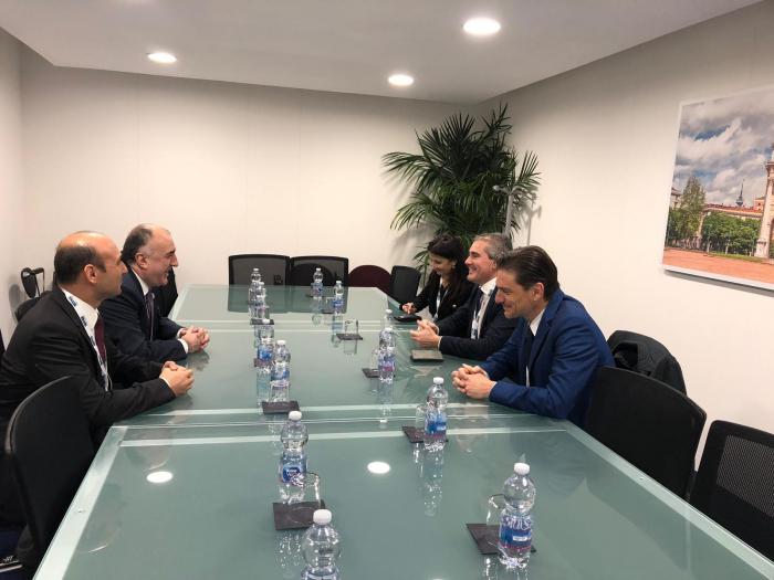 Azerbaijan, Italy discuss strategic partnership