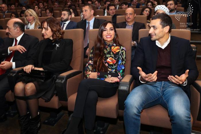 """Arzu Əliyeva """"Miras""""ın təqdimatında - FOTOLAR"""