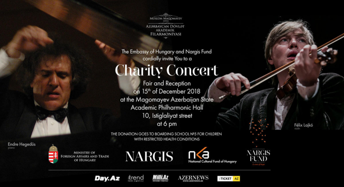 Nargis Fund, Hungarian embassy organize charity concert at State Philharmonic Hall