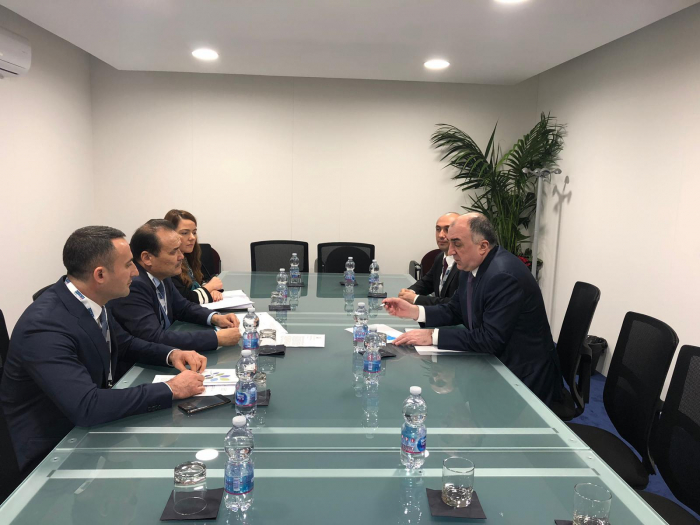 Azerbaijani FM meets with Secretary General of Cooperation Council of Turkic-Speaking States
