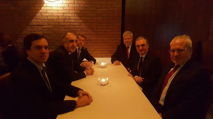 Azerbaijani FM: Very useful discussions held on Karabakh conflict- UPDATED