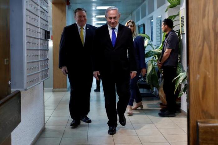 Netanyahu, U.S. Secretary of State Pompeo to meet Monday: Israeli PM