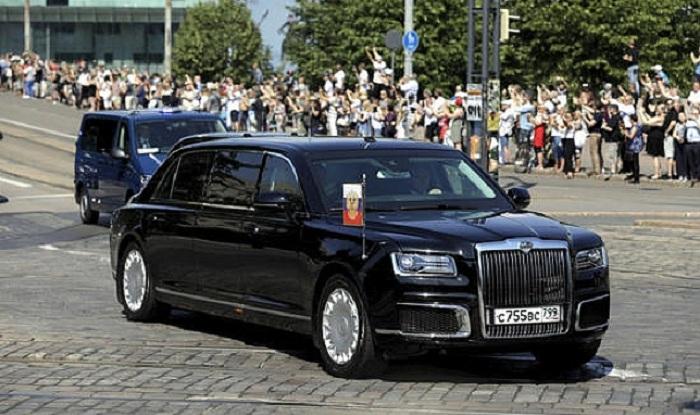 """Putinin """"təkərli sığınacağı"""": Prezidentlər bu maşınlarda gəzirlər - FOTOLAR"""
