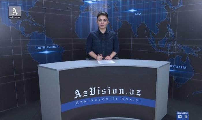 AzVision News: İngiliscə günün əsas xəbərləri (3 Dekabr) - VİDEO