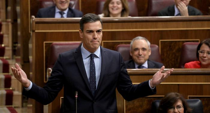 """Sánchez acusa a los independentistas de ir """"contra el ser de España"""""""