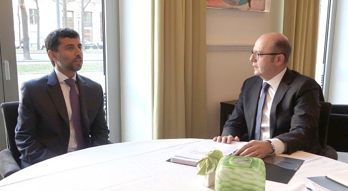 Şahbazov OPEC Konfransının prezidenti ilə görüşüb