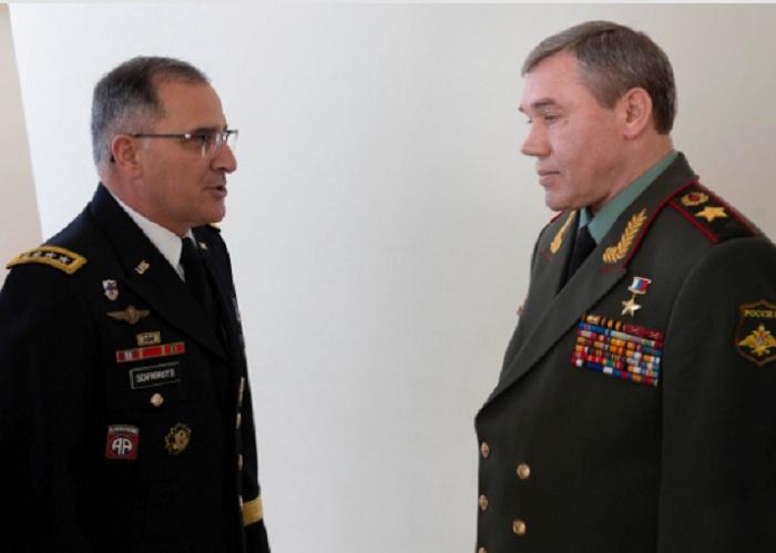 Bakıda NATO və Rusiya generalları görüşdü - FOTOLAR