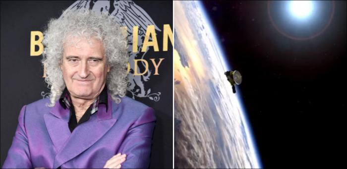 Le guitariste de Queen, Brian May, sort un nouveau morceau hommage à la Nasa