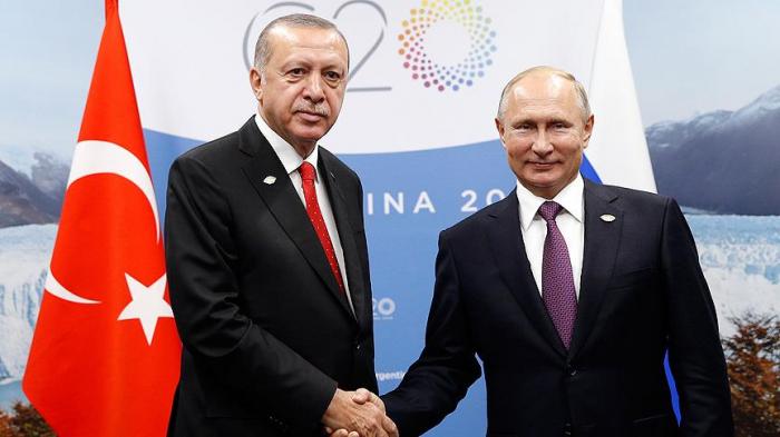 Ərdoğanla Putin təkbətək görüşdü
