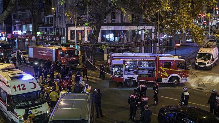 Ankarada partlayış: 7 nəfər yaralanıb