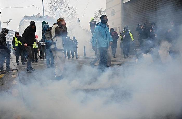 Fransadakı etirazlarda 125 min nəfər iştirak edib