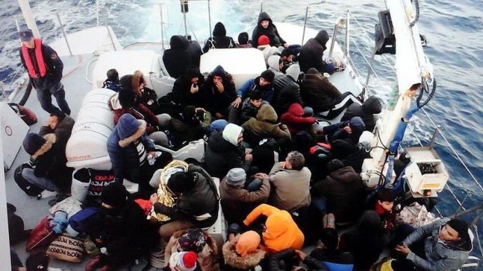 Around 150 irregular migrants held across Turkey