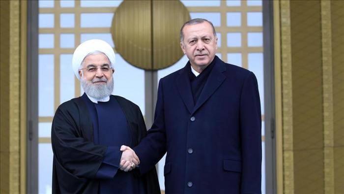 Turquie:   Erdogan accueille Rohani à Ankara