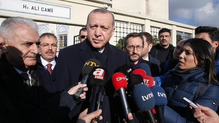 """Erdogan: """"Le régime syrien mène une opération psychologique au sujet de Manbij"""""""