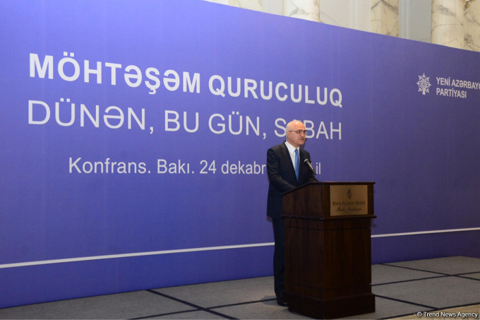 Azerbaijan completing preparation of districts' socio-economic development program