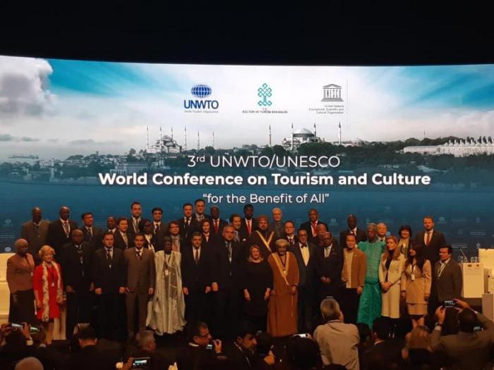 Azərbaycan Mədəniyyət və Turizm Konfransında iştirak edir