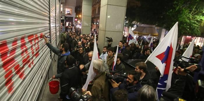Tausende Griechen protestieren gegen Änderungen am Streikrecht