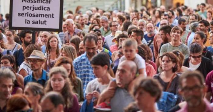 """Anti-Tourismus-Demo in Palma: """"Man hört nur noch Deutsch"""""""