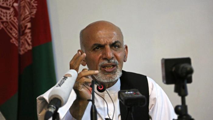 """Əşrəf Qani """"Taliban""""ı dialoqa çağırıb"""