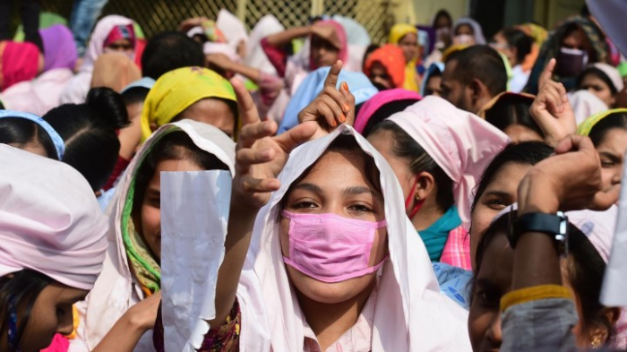 Hunderte Textilarbeiter nach Protesten entlassen