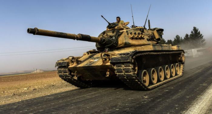 """القبض على مسلحين من """"درع الفرات"""" المدعوم من تركيا خططوا لأعمال إرهابية"""