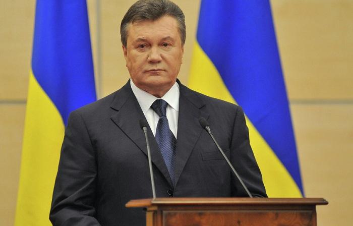 Yanukoviçə 13 il həbs cəzası verildi