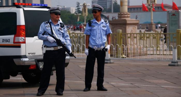 Man attacks a primary school in Beijing,   20 children injured