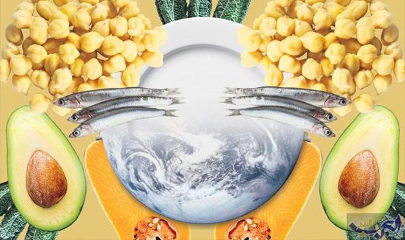 دراسة توضح النظام الغذائي لإنقاذ العالم