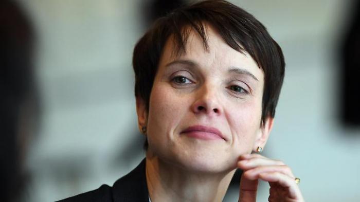Frauke Petry erwartet sechstes Kind