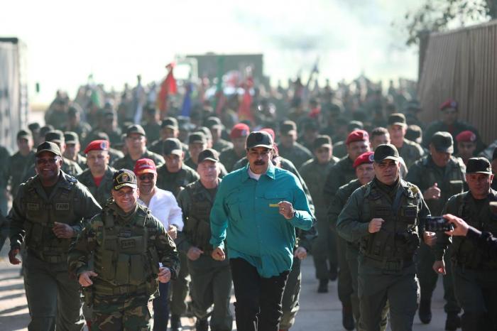 As West turns on him, Venezuela
