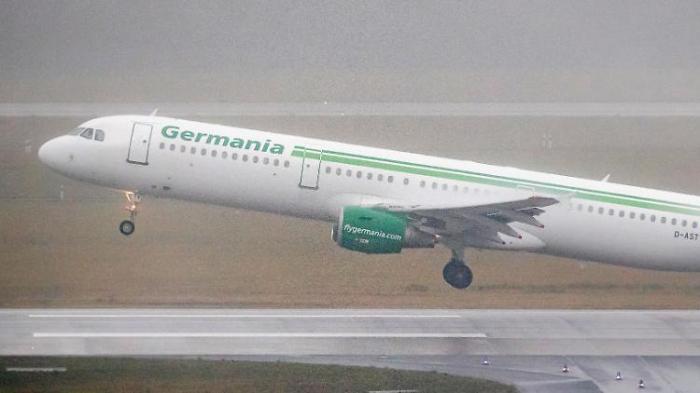 Klamme Germania kann weiterfliegen