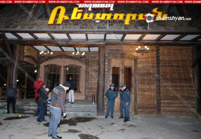 Sabiq erməni deputatın restoranında atışma – 1 ölü, 8 yaralı