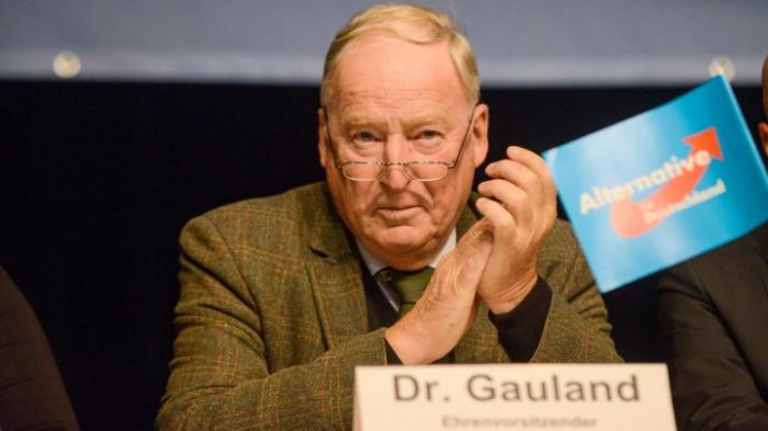 """AfD-Chef Gauland nennt Begründung """"töricht"""""""