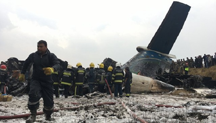 7 killed after cargo plane crashes into building near Tehran - UPDATED
