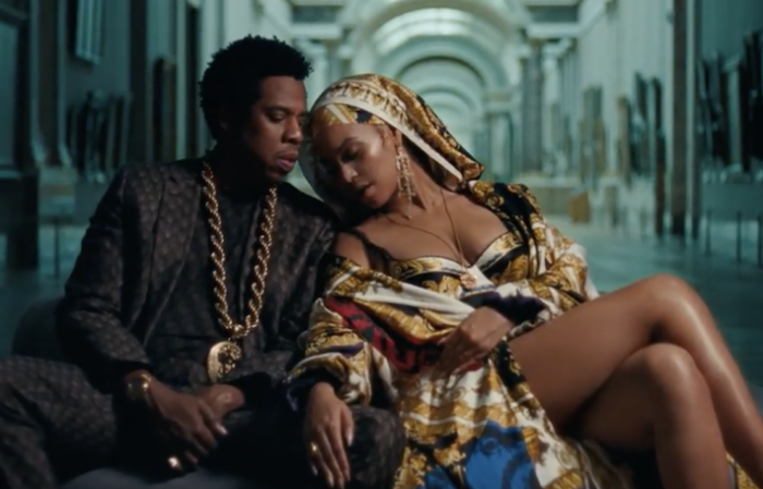 Beyonce and Jay-Z video helps Paris