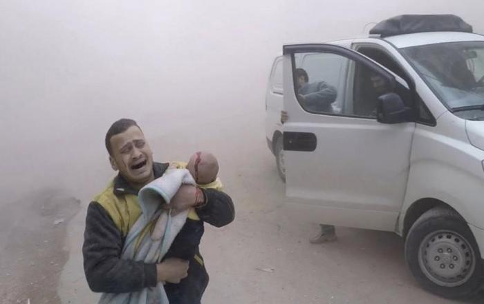 Ötən il Suriyada 2741 sakin qətlə yetirilib